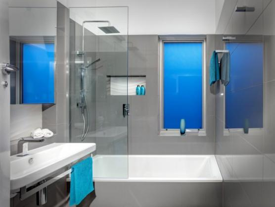 Bath shower combo design ideas get inspired by photos of for Bathroom ideas adelaide