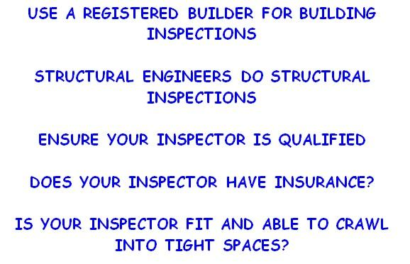 Structural Inspecitons