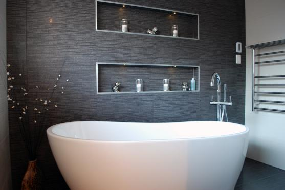 Freestanding Bath Design Ideas by AxFo Builders