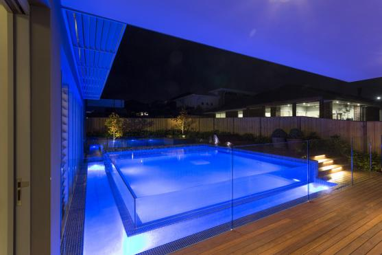 Pool Lights Ideas by The Other Side Landscapes