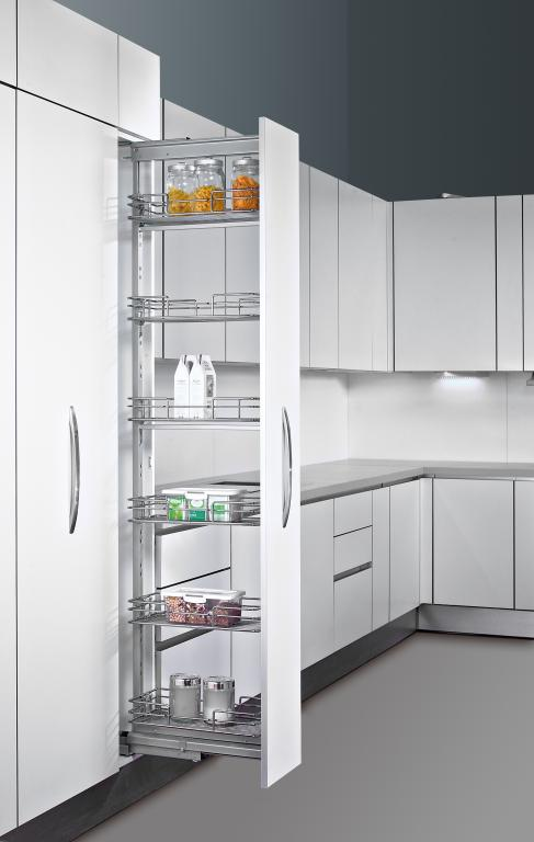 Built In Kitchen Pantry Cabinet
