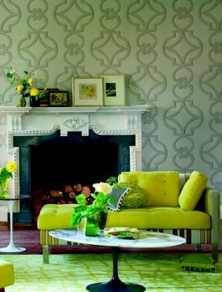 Wallpaper Design Ideas by Heather Levi Interiors