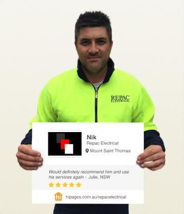 Say hi to great tradies by Repac Electrical