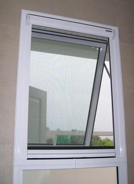 Galleries retractable fly screens for doors windows for Retractable window fly screens