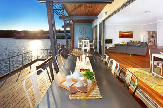 Elevated Decking Ideas by Campbell Wake Interior Design & Styling