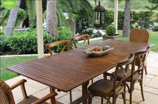 Outdoor Furniture by Effective Home Staging