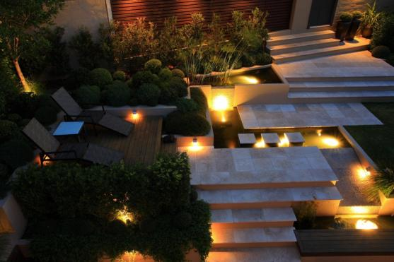 Outdoor Lighting Ideas by Art in Green