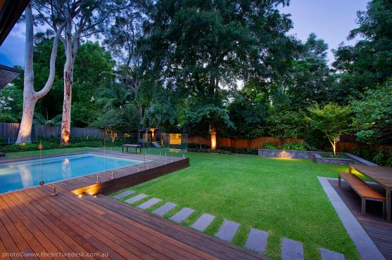 Pool design ideas get inspired by photos of pools from for Pool design company