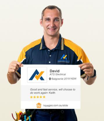 Say hi to great tradies by ATD Electrical