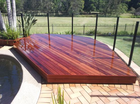 Elevated Decking Ideas by Campbell Builders