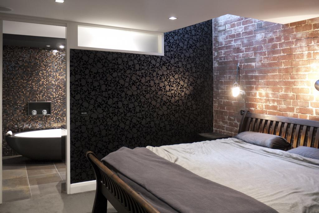 How to use wall dividers in your home for Bedroom ensuite designs