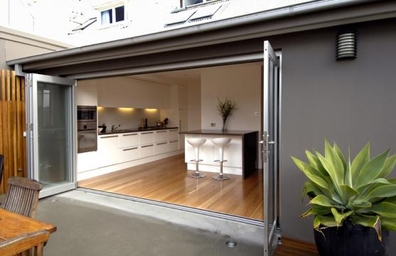 Bifold Door Designs by Webber Architects