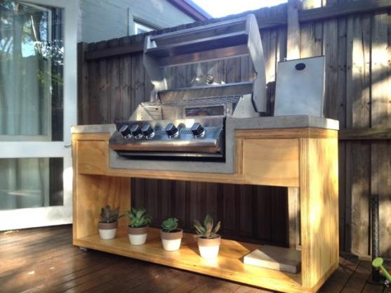 Outdoor Kitchen Ideas by Concreative