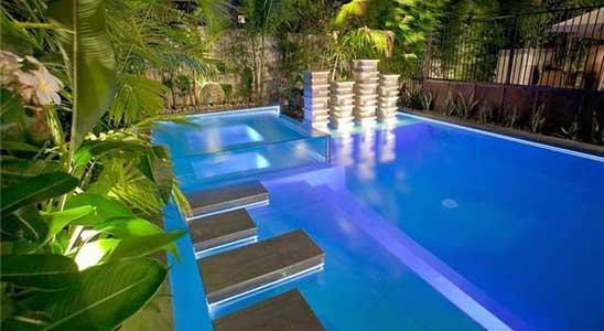 Outdoor Lighting Ideas by Pools by Design