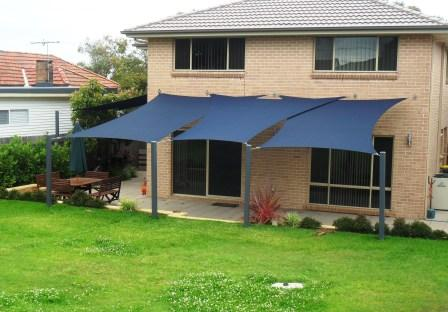 Backyard patio ideas - Shade Sail Design Ideas Get Inspired By Photos Of Shade Sails From