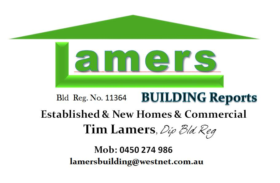 Lamers Building Reports Perth Tim 2