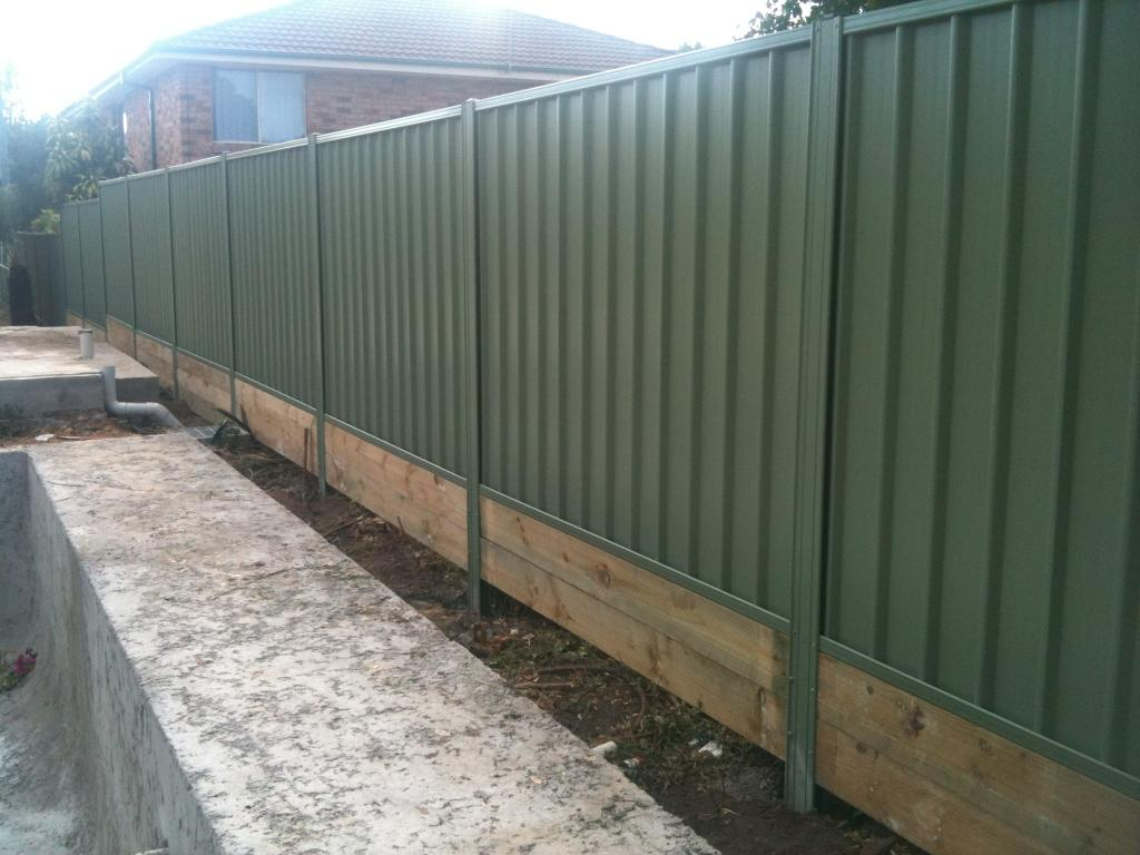 Colorbond Fencing Galleries Sydney Wide Fencing Pty Ltd