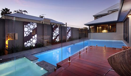 Swimming Pool Designs by Outside In Landscape Management
