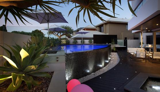 Pool Lights Ideas by Outside In Landscape Management