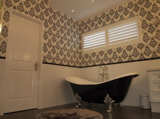 Bath Designs  by MWD Wallpaper