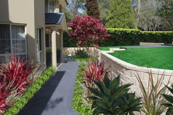 Retaining Wall Design Ideas by Stephen Nugent - Paving & Landscaping
