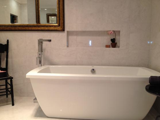 Freestanding Bath Design Ideas by All Precise Tiling