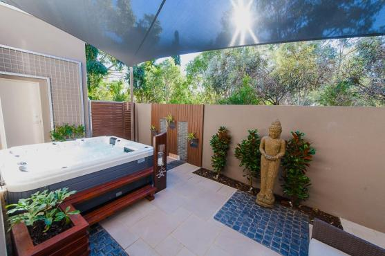 spa design ideas by yardstick landscape design and construction - Spa Design Ideas