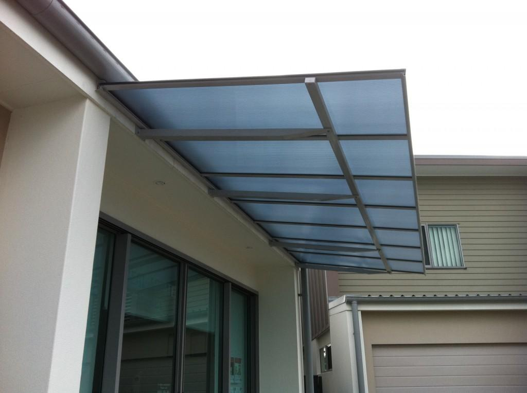 Glass Awning Design