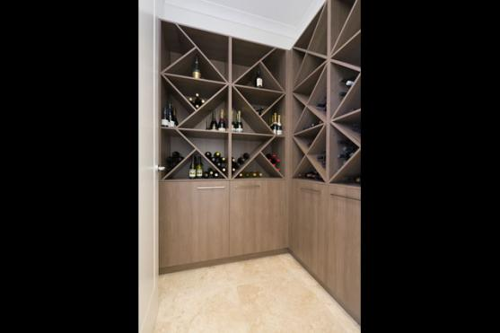 Wine Rack Ideas by Chateau Architects+Builders