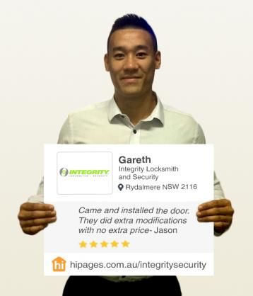 Say hi to great tradies by Integrity Locksmith and Security