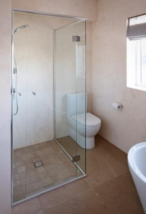 Frameless Shower Screen Designs by Down The Line Carpentry & Glass