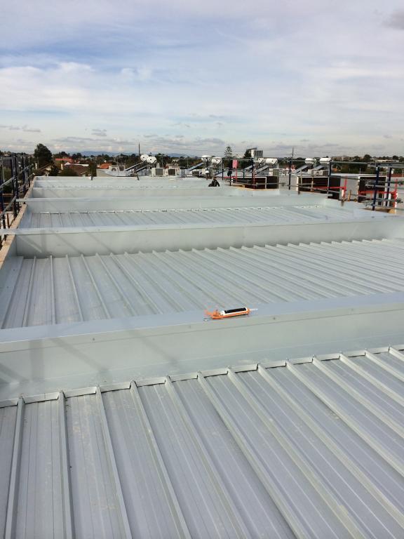Abstract Metal Roofing Melbourne Metro Steven Gilbert