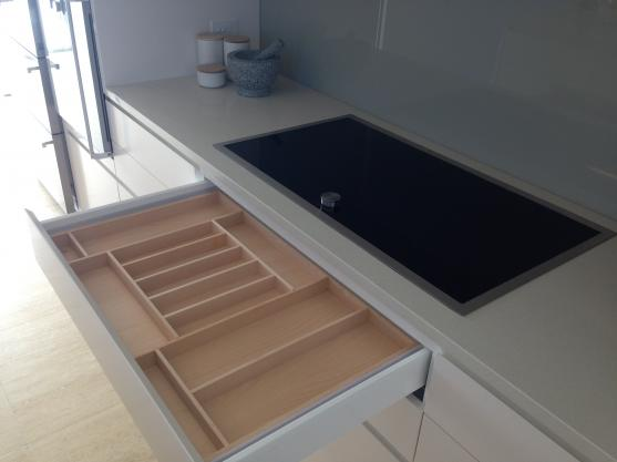 Kitchen Drawer Inserts Ideas by Tristan Gum Cabinetry
