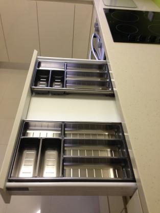 Kitchen Drawer Inserts Ideas by Masters Renovation Centre