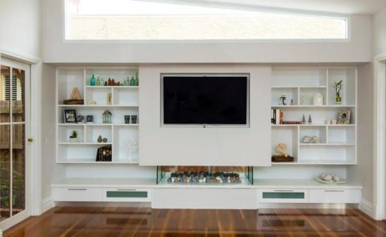Entertainment Unit Design Ideas by Evolution Interior Projects