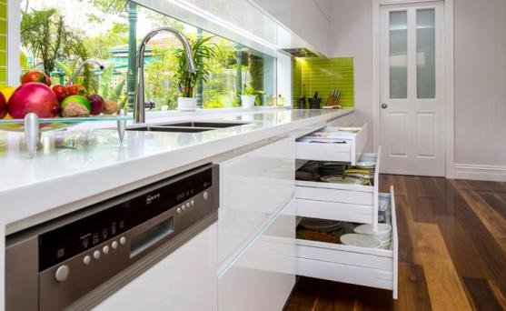 Kitchen Drawer Design Ideas by Evolution Interior Projects