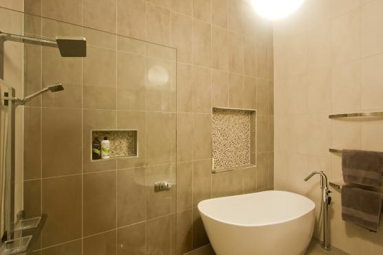 Bathroom Tile Design Ideas by Design by Daniel