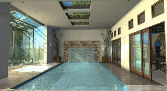 Indoor Swimming Pool Designs by Archi Solutions Architects
