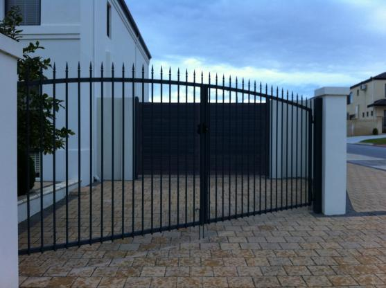 Wrought Iron Gates by Metric Fencing