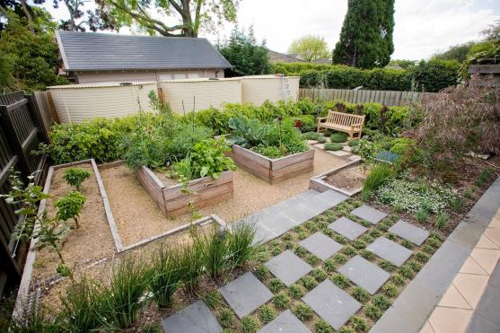 Vegetable Garden Designs by Houghton's Landscaping & Paving