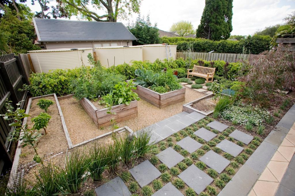 Vegetable Gardens Inspiration - Houghton's Landscaping ...