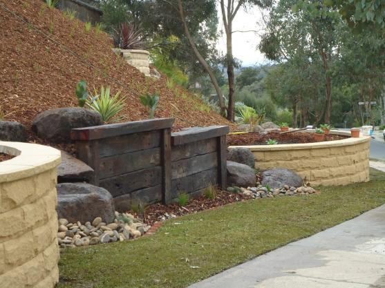 Retaining Wall Design Ideas by Houghton's Landscaping & Paving
