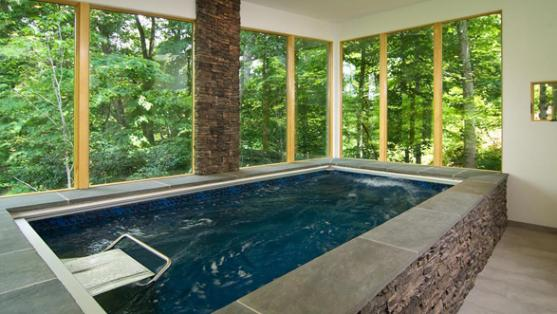 Indoor Swimming Pool Designs by Fastlane pools