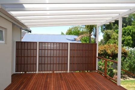 Privacy Screen Ideas by Urban Exteriors Patios & Decks Pty Ltd