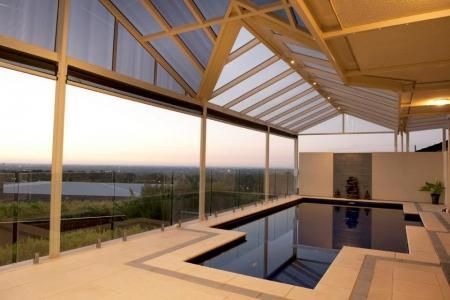 Indoor Swimming Pool Designs by Urban Exteriors Patios & Decks Pty Ltd