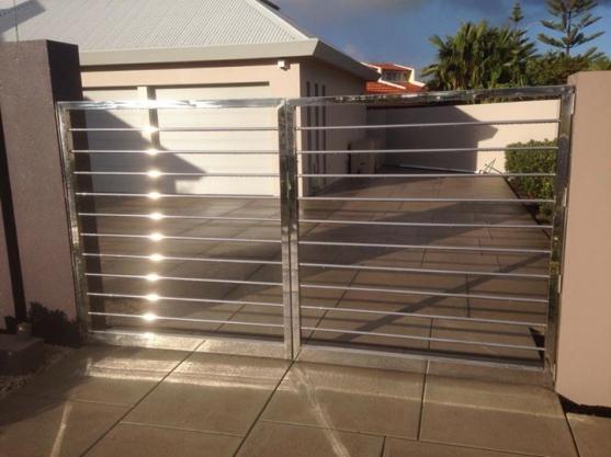 Wrought Iron Gates by Aluminium Plus WA