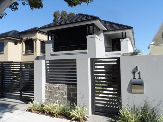 Front Gate Designs by Privacy Fencing Perth