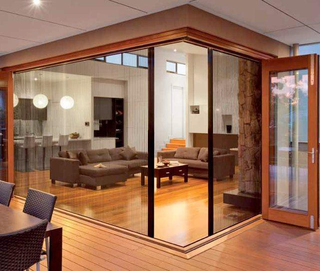 Retractable flyscreens inspiration illusion flyscreens for Flyscreens for french doors