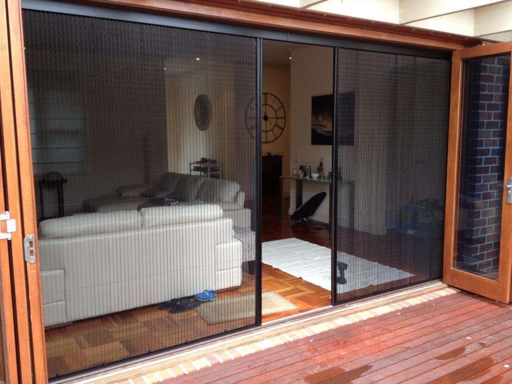 Replacing your flyscreens for Retractable insect screen door