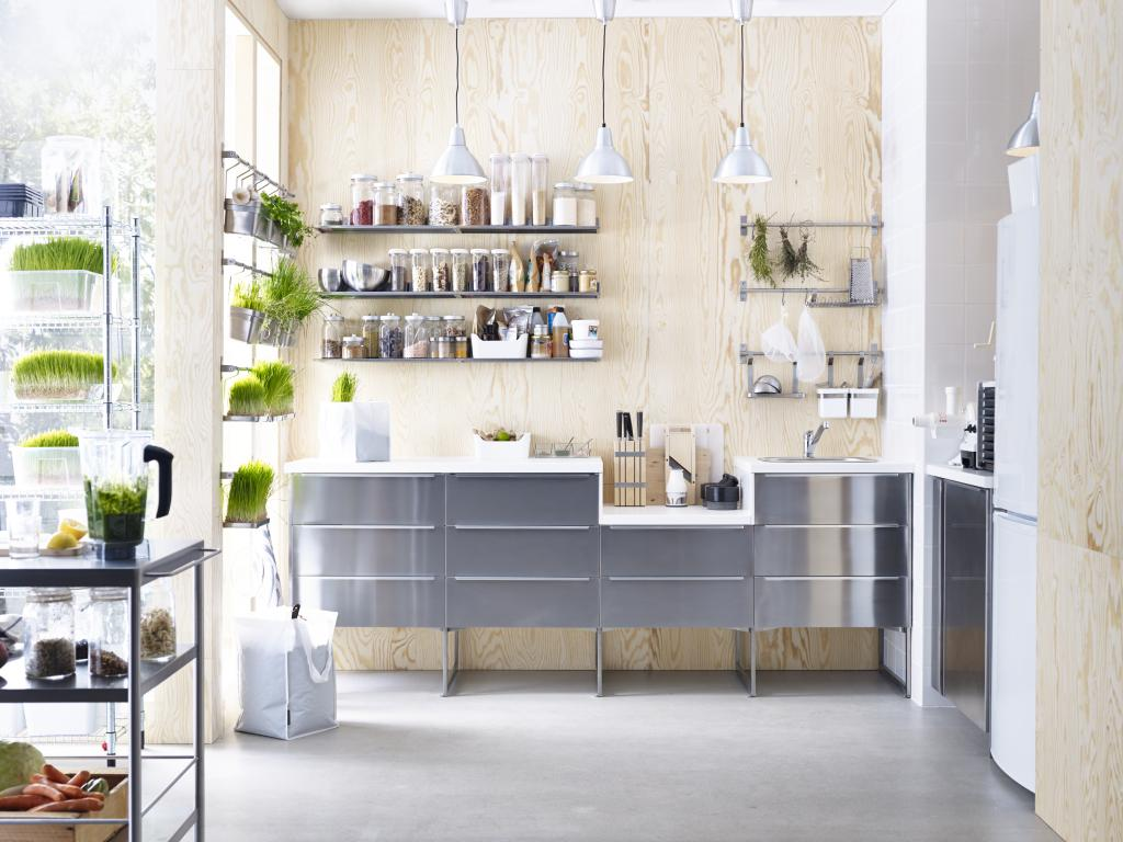 flat pack kitchen in modern design